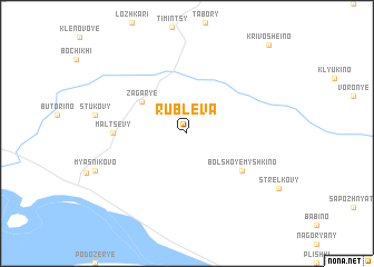 map of Rublëva