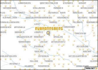 map of Rubmannsberg