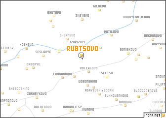 map of Rubtsovo