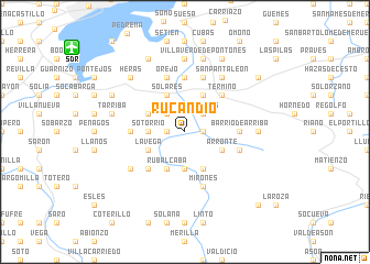 map of Rucandio