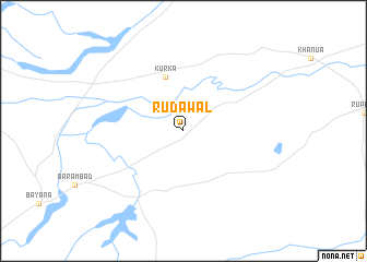 map of Rudāwal