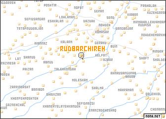 map of Rūdbārchīreh