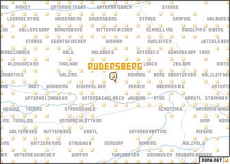 map of Rudersberg