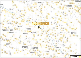map of Rudikovica