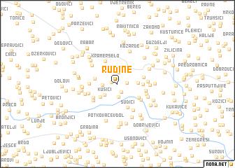 map of Rudine