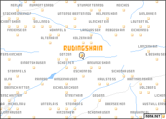 map of Rudingshain