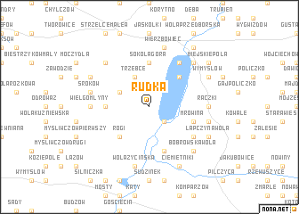 map of Rudka