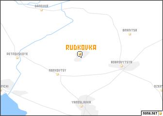 map of Rud'kovka