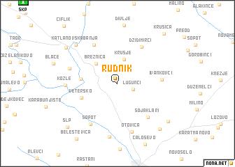 map of Rudnik