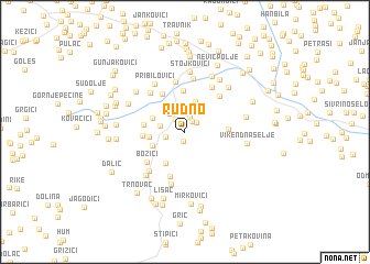 map of Rudno