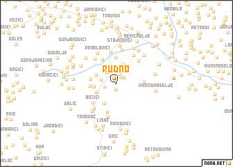 map of Rudno