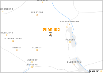 map of Rudovka