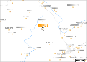 map of Rufus