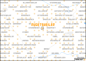 map of Rugetsweiler