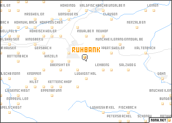 map of Ruhbank