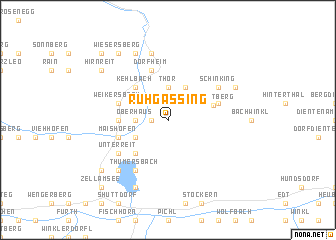 map of Ruhgassing