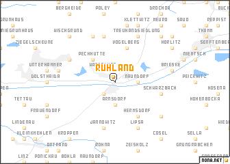 map of Ruhland