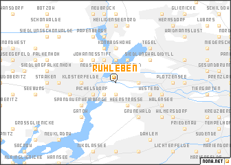 map of Ruhleben