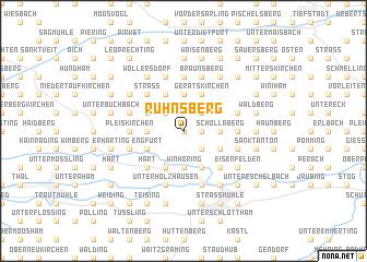 map of Ruhnsberg