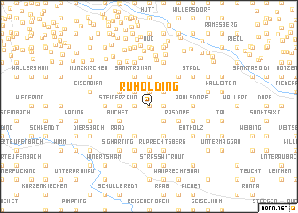 map of Ruholding