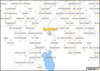map of Ruhsam
