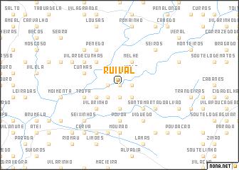 map of Ruival