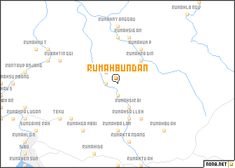 map of Rumah Bundan