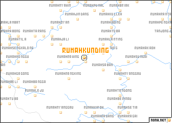 map of Rumah Kunding