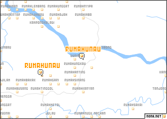 map of Rumah Unau