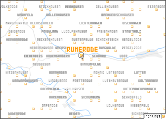 map of Rumerode