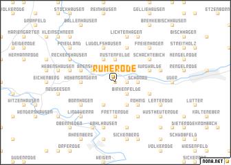 map of Rumerode