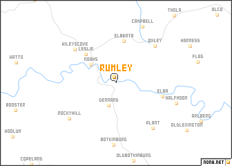map of Rumley