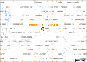 map of Rummeltshausen
