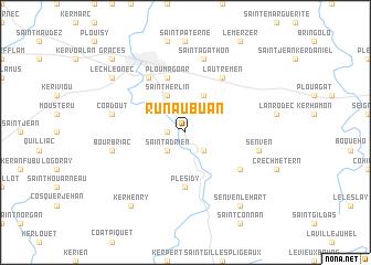 map of Runaubuan
