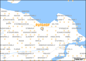 map of Rundhof