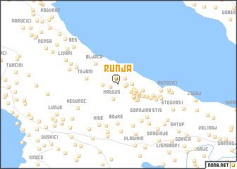 map of Runja