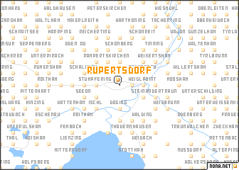 map of Rupertsdorf