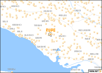 map of Rupe