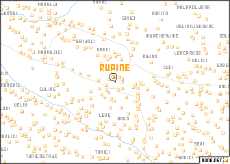 map of Rupine