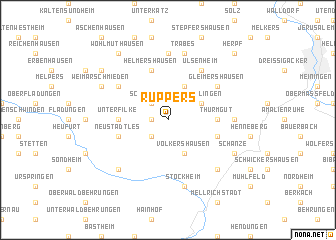 map of Ruppers