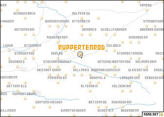 map of Ruppertenrod