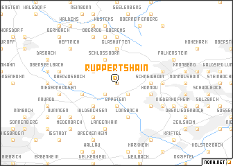 map of Ruppertshain