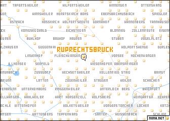 map of Ruprechtsbruck