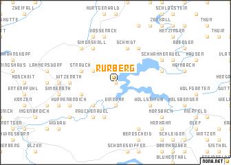 map of Rurberg