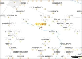 map of Rusaki