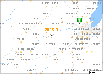 map of Russin