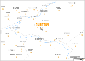 map of Rust\