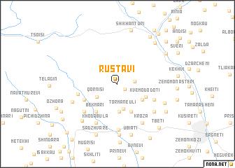 Rustavi Georgia map nonanet