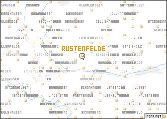 map of Rustenfelde