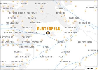 map of Rustenfeld